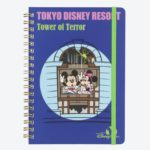 TDR Park Attractions Design Mickey and Minnie Notebook -Tower of Terror