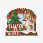 TDR Country Bear Theatre Jingle Bell Jamboree Pin Badge