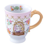 TDR Princess Flower design Rapunzel Mug