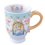 TDR Princess Flower design Cinderella Mug