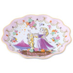 TDR Princess Flower design Rapunzel Plate