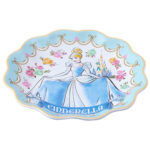 TDR Princess Flower design Cinderella Plate