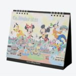 TDR Disney Friends Desk Calendar 2021