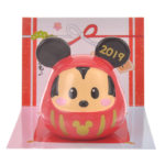 DSJ New Year 2019 Mickey Mouse Daruma Mascot