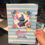 TDR Lilo and Stitch Clear Folder