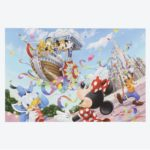 TDR Mickey and Friends Postcard