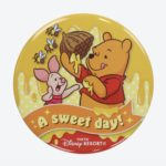 TDR POOH AND PIGLET TIN BADGE