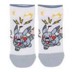 PCO Super Nerd Robot Pikachu Short socks