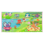 PCO Pokemon Yurutto Soto-biyori Mini Bath towel