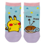 PCO Pokemon Yurutto2 PY Squirtle and Pikachu short socks