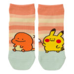 PCO Pokemon Yurutto2 PY Charmander and Pikachu short socks