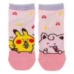 PCO Pokemon Yurutto2 PY Jigglypuff and Pikachu short socks