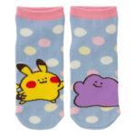 PCO Pokemon Yurutto2 PY Ditto and Pikachu short socks