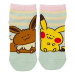 PCO Pokemon Yurutto2 PY Eevee and Pikachu short socks