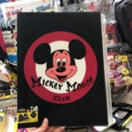 KIT MICKEY 90TH ANNIVERSARY A4 clear holder and case 2 SN