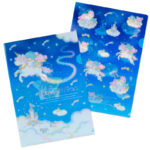 SRO Shooting Star Dream LittleTwinStars A4 Clear file Set