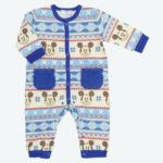 TDR Coveralls  Mickey Mouse(Blue stripe) Kids 80cm
