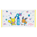 PCO Saiko Soda Pikachu and  Eevee Mini bath towel