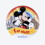 TDR Mickey Mouse 1st Visit Tin Badge