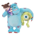 DSJ Sulley Mike Boo Hug and Smile Plush Doll
