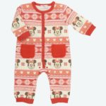 TDR Coveralls  Minnie Mouse(Red stripe) Kids 80cm