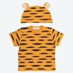 TDR Pooh and Friends T-shirts and Beanie Tigger Kids 90cm