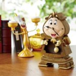 BEL Disney Beauty and The Beast Cogsworth Clock