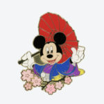 TDR Mickey Mouse Sakura Pin Badge