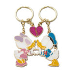 TDR Donald and Daisy Love pair Keychain