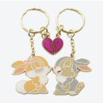TDR Thumper and Miss Bunny Love pair Keychain