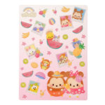 DSJ Ufufy Summer Fruits  Mickey and Friends Shitajiki Plastic Sheet