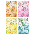 DSJ Disney Characters Summer Art Clear Folder Set