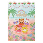 DSJ Ufufy Summer Fruits Hibiscus Mickey and Friends Shitajiki Plastic Sheet