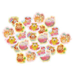 DSJ Ufufy Summer Mickey and Friends Flake Sticker