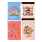 DSJ Chip and Dale Rescue Rangers Clear Folder Set
