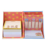 DSJ CHIP AND DALE RESCUE RANGERS Sticky note and memo pads with Pen Stand