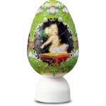 DSJ Tinkerbell Egg shaped Puzzle LED Lantetn (LED Light)