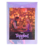 DSJ Hologram Rapunzel and Flynn Rider  Envelope size clear file