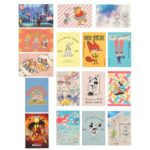 DSJ Disney Characters Hologram 16 Postcard Set