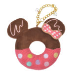 DSJ Minnie Mouse Plush Keychain Donut
