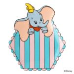 FRF Dumbo Mini Plate Pink x Blue