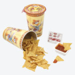 TDR Donald Duck Corn Snack and Dipping Salsa Sauce