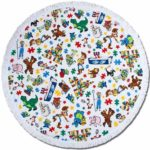 TDR Toy Story 4 Circle Towel