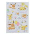 PCO Rainbow Stickers Pikachu and Eevee