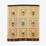 TDR Winnie the Pooh Face Wash Towel (Yellow)