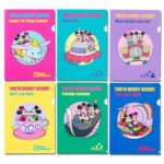 TDR Park Attractions Design Clear Folder Set