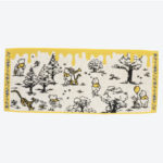 TDR Winnie the Pooh Hundred Acre Wood Face Towel