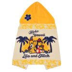 DSJ Hawaiian Stitch Hooded towel
