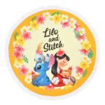 DSJ Hawaiian Stitch Round Towel