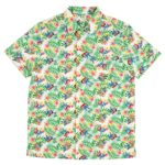 DSJ Hawaiian Stitch Shirts M size